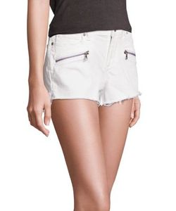 Paige | Zippered Cut Off Shorts