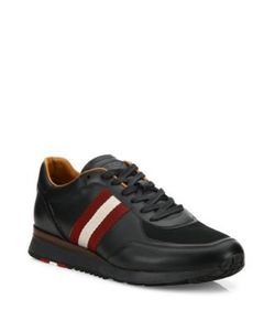 Bally | Aston Calf Leather Low-Top Sneakers