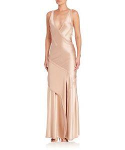 Jason Wu   Satin Sleeveless Gown