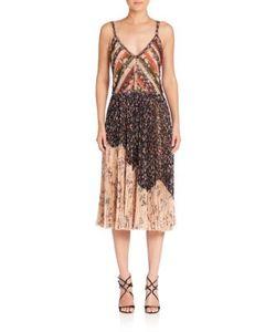 Jason Wu | Printed Chiffon Cocktail Dress