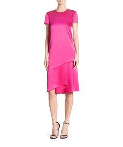 Ralph Lauren Collection | Chandra Mulberry Silk Dress