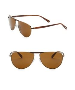 Oliver Peoples | Conduit 59mm Aviator Sunglasses
