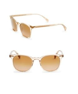 Oliver Peoples | L.A Coen 49mm Square Sunglasses
