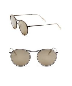Oliver Peoples | 51mm Round Sunglasses