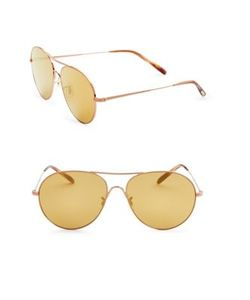 Oliver Peoples | Rockmore 58mm Oversized Aviator Sunglasses