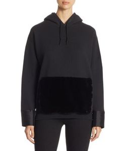 Harvey Faircloth | Zippered Hoodie With Faux Fur