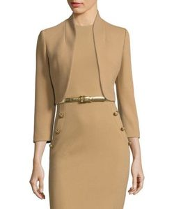 Michael Kors Collection | Wool Open Front Bolero