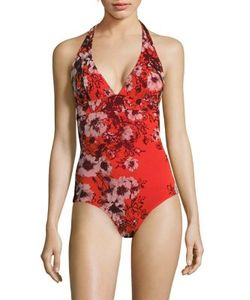 Jean Paul Gaultier | Vintage Printed One-Piece Swimsuit
