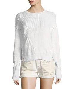 Helmut Lang | Ribbed Cotton Sweater