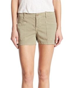 J Brand   Brona Mid Rise Cargo Shorts
