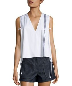 Derek Lam | Cropped Striped Top