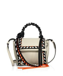 Elena Ghisellini | Angel Mini Leather Top Handle Bag
