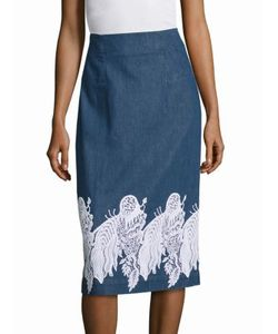 Creatures Of The Wind | Suomi Embroidered Skirt