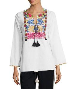 Figue   Renata Embroidered Top