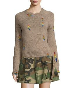 Marc Jacobs | Distressed Wool-Blend Sweater