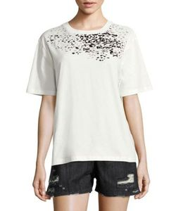 Public School | Adara Graphic Cotton Jersey Tee