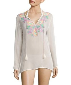 Ondademar | Sea Wave Embroide Cover-Up
