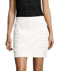 Derek Lam 10 Crosby   Twill Mini Skirt