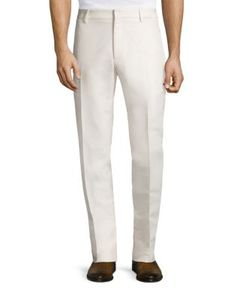 Salvatore Ferragamo | Regular-Fit Silk Blend Pants
