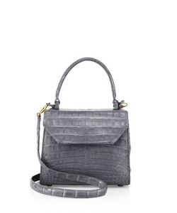 Nancy Gonzalez | Mini Lily Crocodile Leather Crossbody Bag