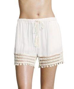 Anna Kosturova   Cairo Laced Shorts