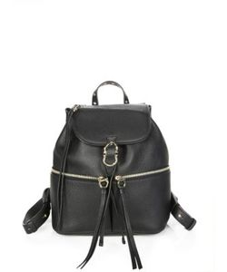 Salvatore Ferragamo | Ganciorama Carol Leather Medium Backpack