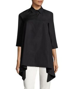 Max Mara | Solista Asymmetrical Cotton Shirt