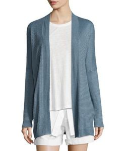 Polo Ralph Lauren | Linen-Blend Open-Front Cardigan