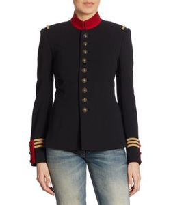 Ralph Lauren Collection | The Officers Double-Faced Wool Jacket