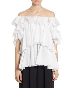Tome | Off-The-Shoulder Tiered Blouse