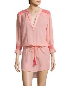 Heidi Klein | Capri Smocked Cotton Tunic