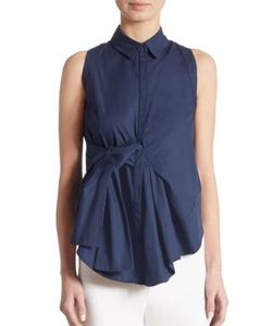 Antonio Berardi | Sleeveless Cotton Blouse