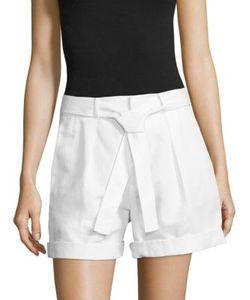Polo Ralph Lauren   Pleated High-Rise Shorts