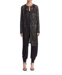 Ralph Lauren Collection | Cora Leather Coat