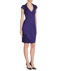 Armani Collezioni | Belted Cotton Dress