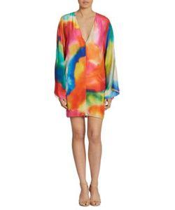 Ralph Lauren Collection | Nadia Splash-Print Silk Dress