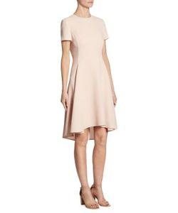 DKNY | Asymmetrical Hem Short Sleeve Dress