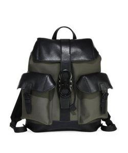 Salvatore Ferragamo | Two-Tone Leather Backpack
