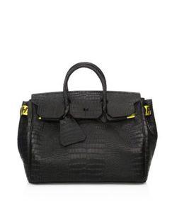 Off-White | Textured Leather Handbag