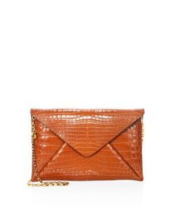 Michael Kors Collection | Nile Crocodile Envelope Clutch