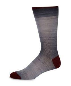Saks Fifth Avenue Collection | Space Dye Fluer De Lis Socks
