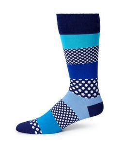 Paul Smith | Dot Stripe Dress Socks