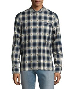 Ovadia & Sons | Crosby Cotton Casual Button Down Shirt
