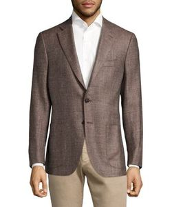 Isaia | Wool Silk Regular-Fit Blazer