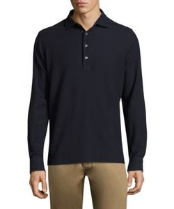 Polo Ralph Lauren | Double Pique Long Sleeve Cotton Tee