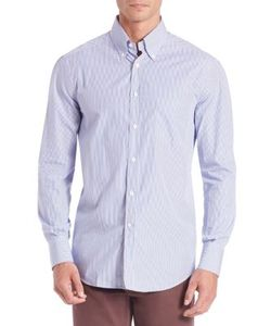Brunello Cucinelli | Striped Cotton Shirt