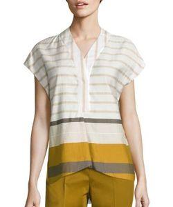 Piazza Sempione | Cotton Striped Tunic
