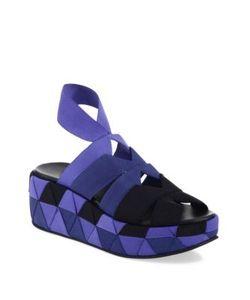 Salvatore Ferragamo | Elettra Ribbon Platform Sandals