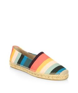 Paul Smith | Canvas Stripe Espadrilles