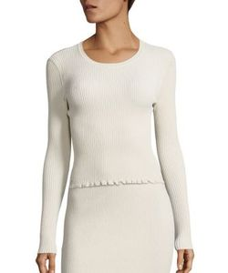 Derek Lam | Ribbed Long Sleeve Pullover